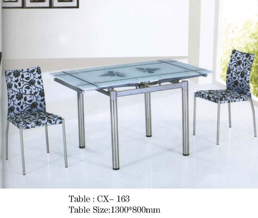Plegable Mesa De Comedor De Vidrio Cx163 - Buy Moderna Mesa De ...