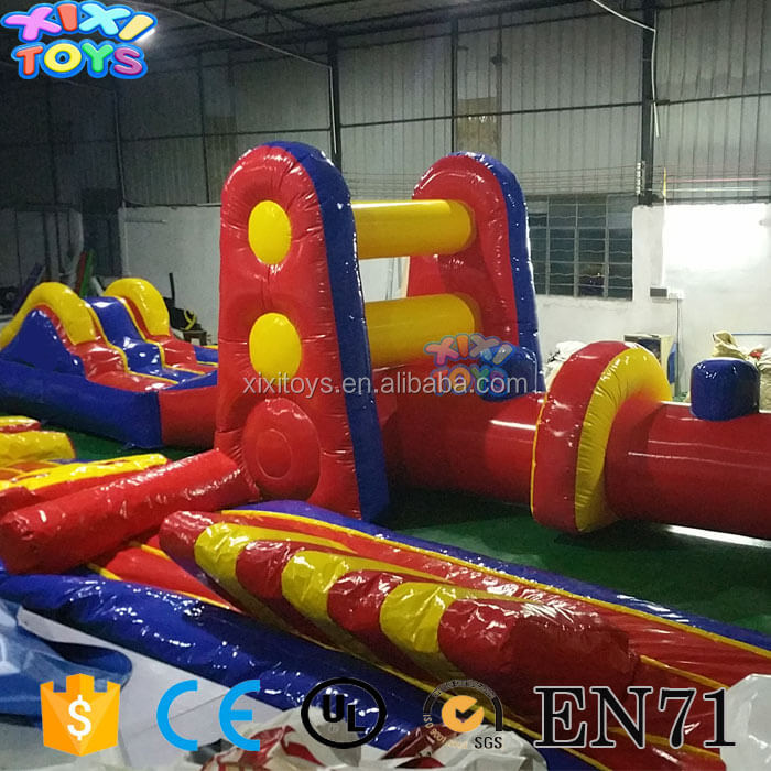 Inflatable Water Obstacle / Swimming pool inflatable obstacle game