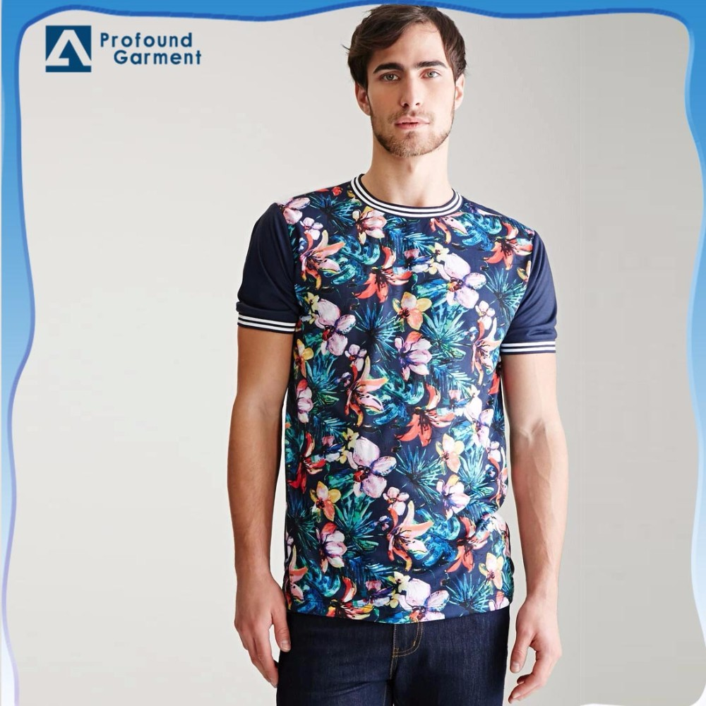 chinese plain round neck fashionable man to man fancy designs wholesale classic easy printing tshirt cotton specifications