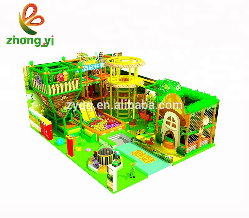 Kids Jungle Gym Indoor Speeltuin