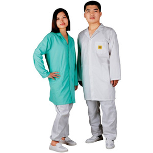 cleanroom clothing standard 3/4 smock with pockets