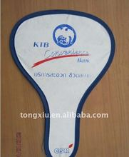 Latest design promotion folding nylon Fan