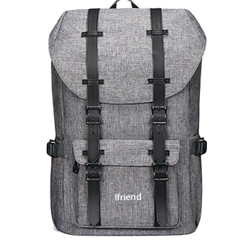 0ed1e1e4df76d Casual Large College School Daypack Laptop Outdoor Backpack Travel Hiking  Camping Rucksack Pack Fits 15.6 quot