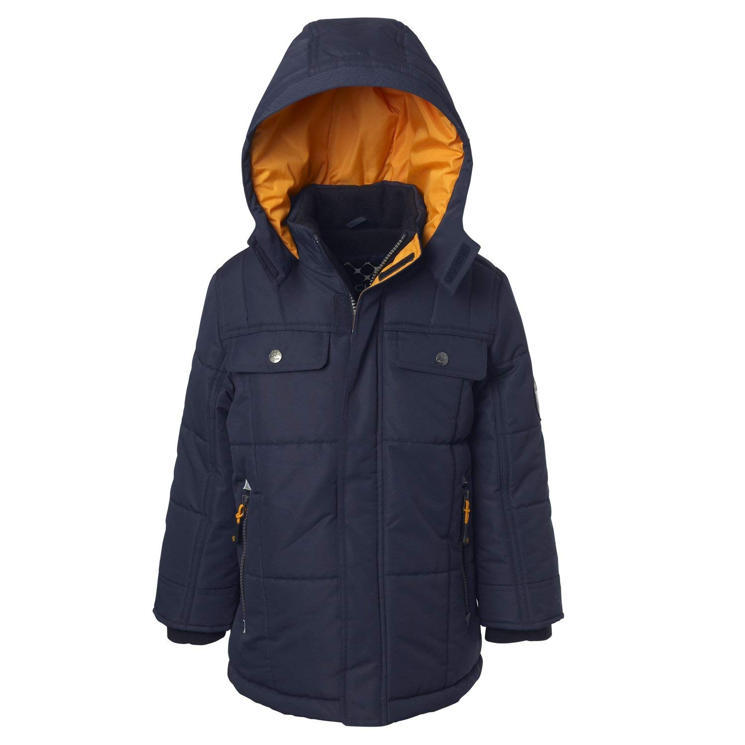 Big Chill Expedition Jacket for Big & Little Boys – Quilted with Hood
