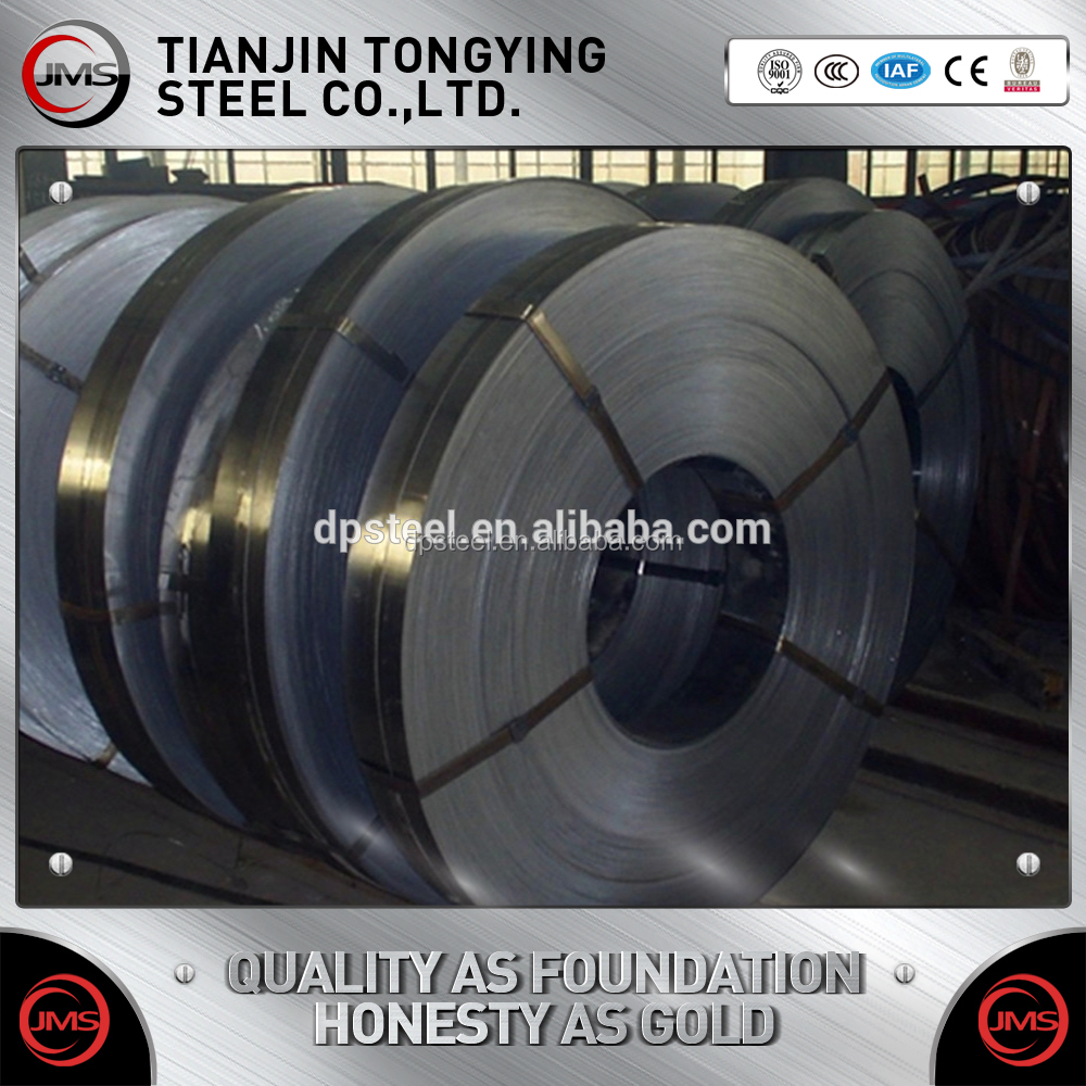 Top quality 65Mn high carbon steel strip with hardened&tempered price for construction