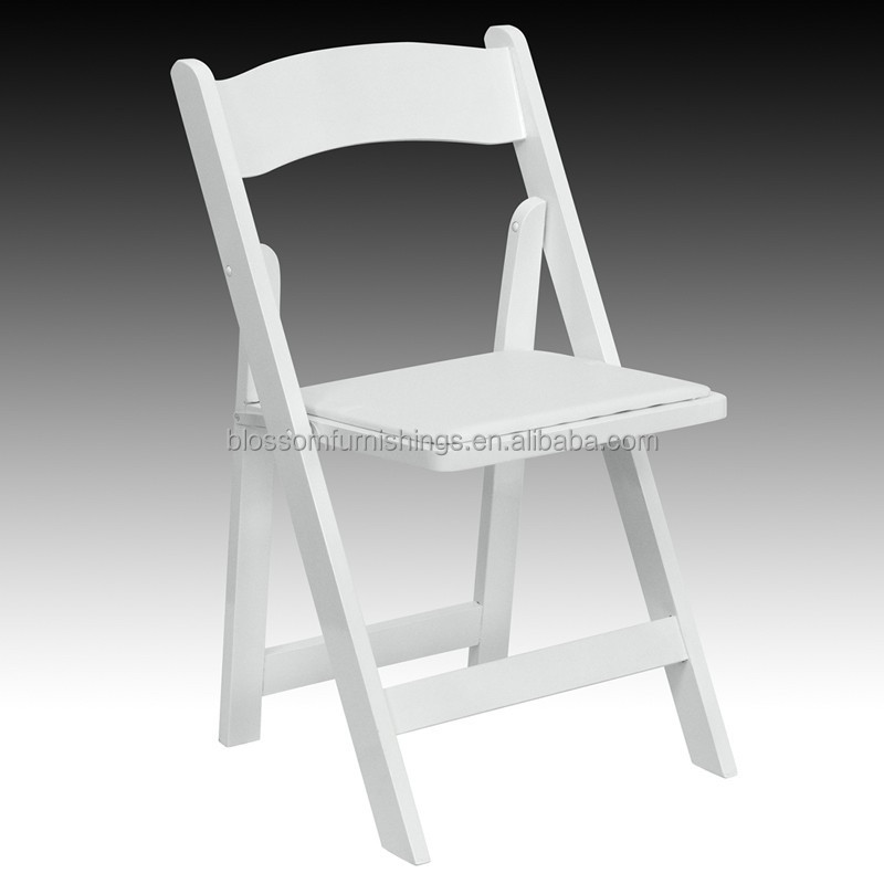 White Wooden Padded Folding Chair, White Wooden Padded Folding Chair  Suppliers And Manufacturers At Alibaba.com