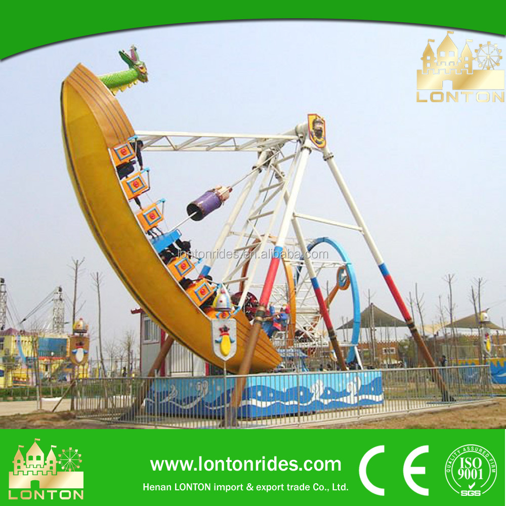 Excellent rides in amusement park pirate ship for sale