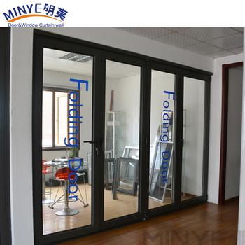 Merveilleux High Quality Interior Temporary Aluminum Folding Bathroom Door Indoor Folding  Door Hot Sale
