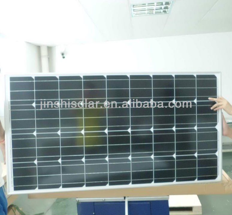 120w 18v mono solar panel module for home used solar power system