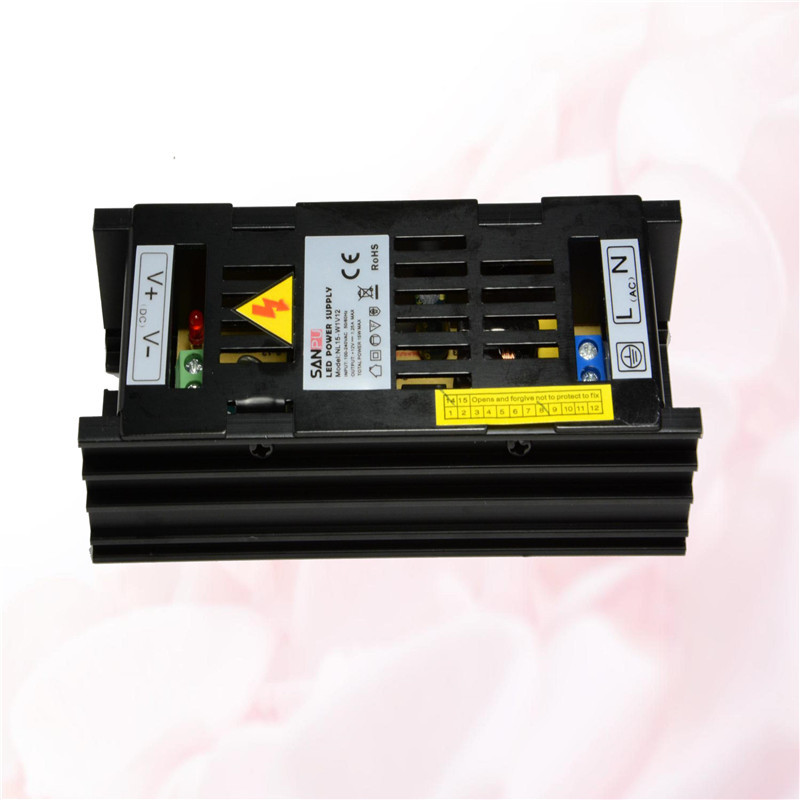 Black sanpu smps 35w 12v 3a led driver switching power supply driver metal case AC 100~240V to DC 12v lighting transformer
