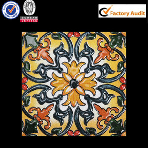 non slip random pattern ceramic floor tile