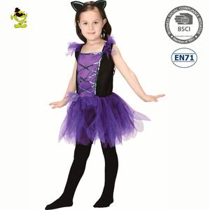 9cdb661d75 A Halloween children bat fancy dress party kids fashion tutu costume