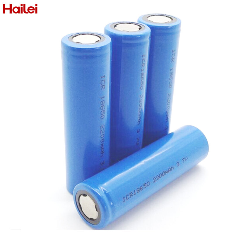 Factory Price rechargeable icr18650 li ion <strong>battery</strong> 18650 3.7v cell 2200mah for solar power