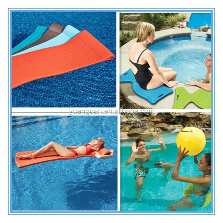 Colchoneta de espuma de alta calidad flotante celular piscina flotante de espuma estera piscina - Colchonetas para piscina ...