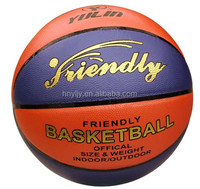 rubber/micro fiber/moisture absorption/pu basketballs