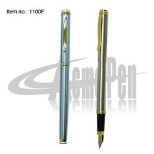 Classic and Popular Stainless steel fountain pen