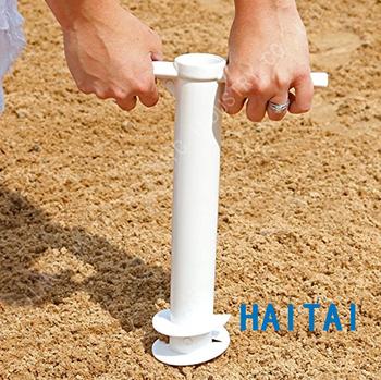 Outdoor Umbrella Anchor Spiral Stake Beach Sand Stand Holder Beach