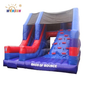 Cheap indoor inflatable slide small for sale