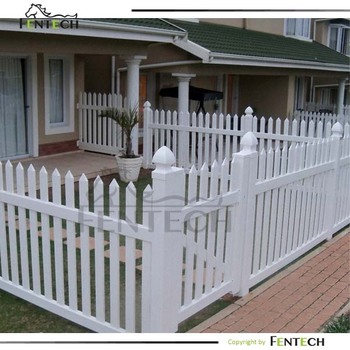 High Quality Cost Effective White Picket Fence Aluminium Insert