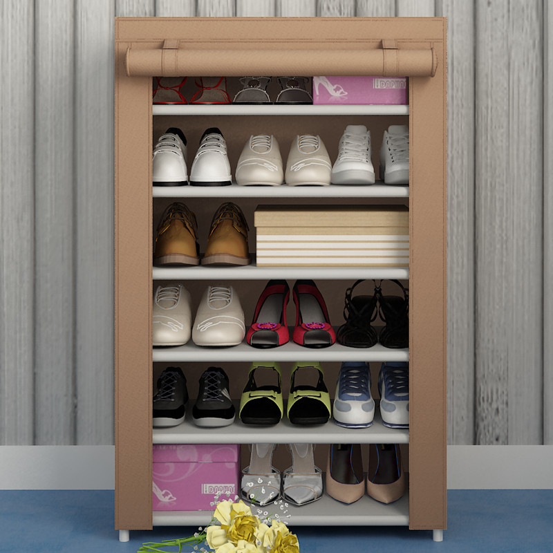 Shoe Rack With Cover Shoe Rack With
