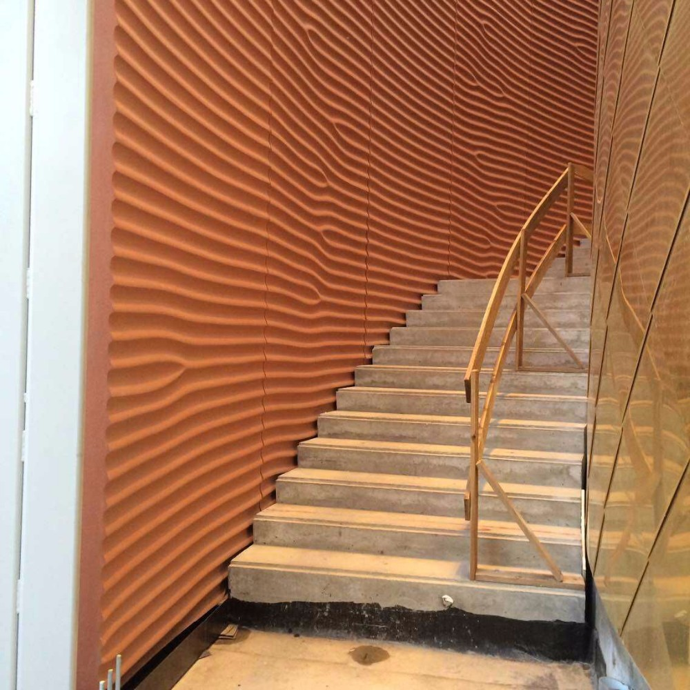 Decorativo grc 3d paneles de pared exterior 3d paneles de - Paneles decorativos exterior ...