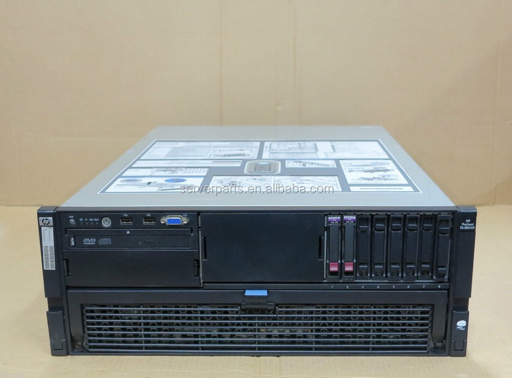 DL580 G5 4x QUAD-Core XEON X7350 2.93Ghz 128Gb RAM 2x 146Gb Server