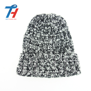 Wholesale Winter Patterns Hat Beanie With Custom Label