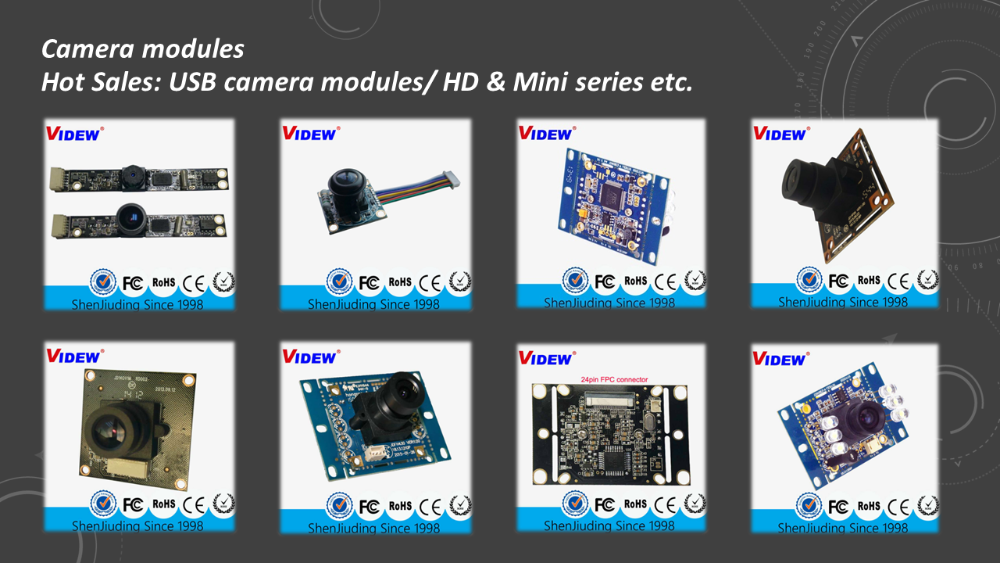 High quality camera module oem poe with USB interface