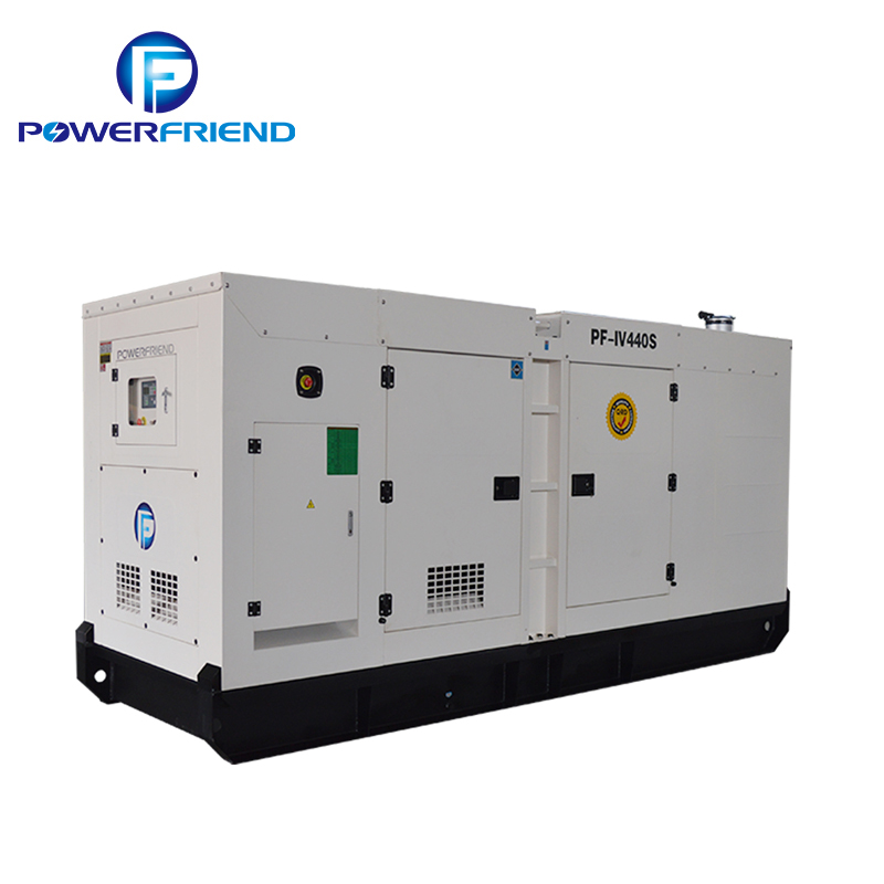 three phase mute Iveco power engine 250kva diesel generators price