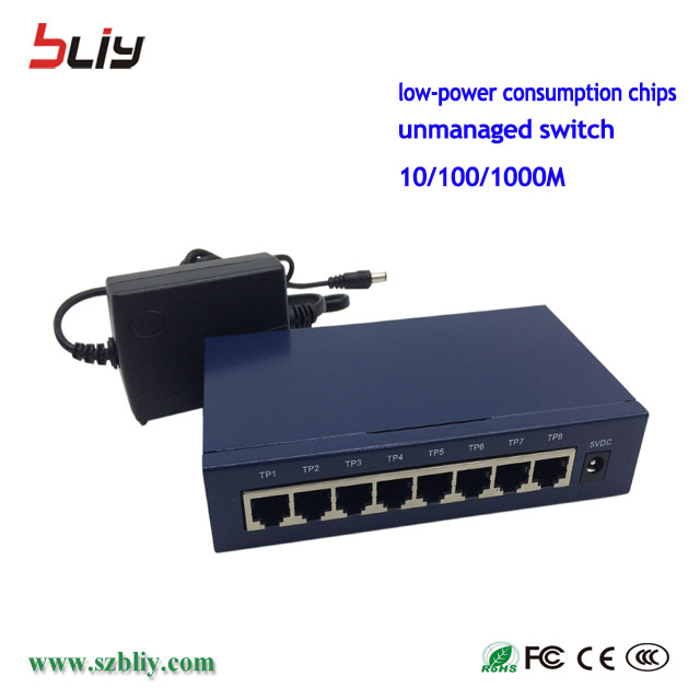 Best Cheap All Fastest Wireless Gigabit Network Access Switch Lc Fc Fiber Channel Optic Core Lan Switch 8 Port Port Price
