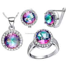 Rainbow crystal 돌 마치 남자들 한복 asian jewelry set professional 내 보냅니다 manufacturer