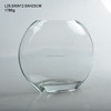 large clear glass vase for wedding decoration