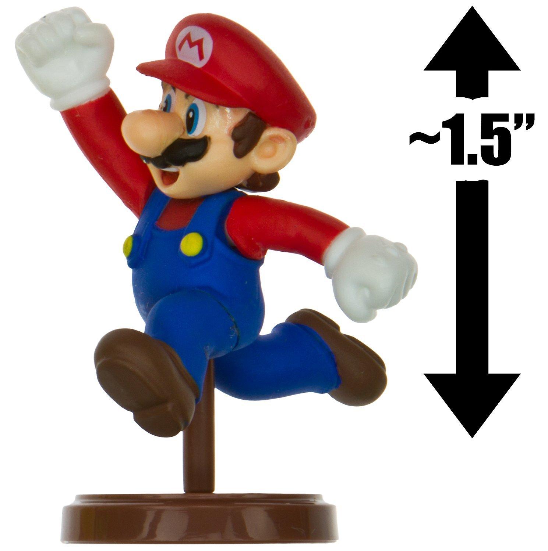 "Mario ~1.5"" Mini Figure [New Super Mario Bros. Wii Choco Egg Series #1 - NO CANDY] (Japanese Import) [01]"