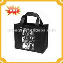 Promotional Cheap Customized Foldable Laminated Eco Fabric Tote Non-woven Shopping Bag, Recyclable PP Non Woven Bags