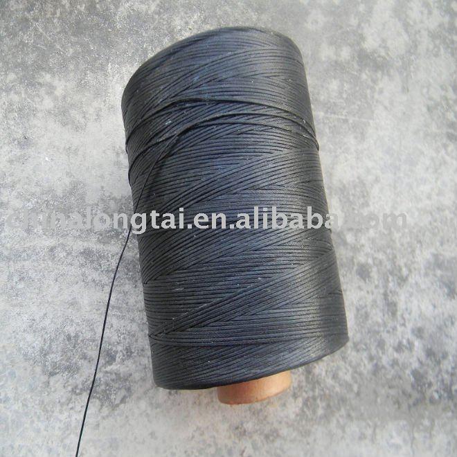 High Tenacity Polyester Nylon Braided Waxed Thread