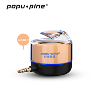 Portable for Mobile Phone iPad iPhone MP3 External Mini 3.5mm Ear Jack Mobile Phone Speaker