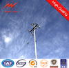 110kv electric pole steel column with clamp accessories