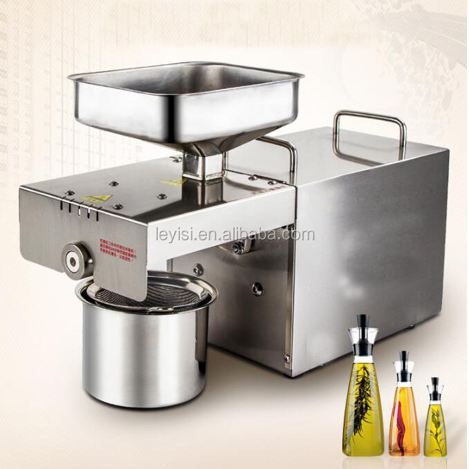 high quality stainless steel small home olive oil press machine for sale
