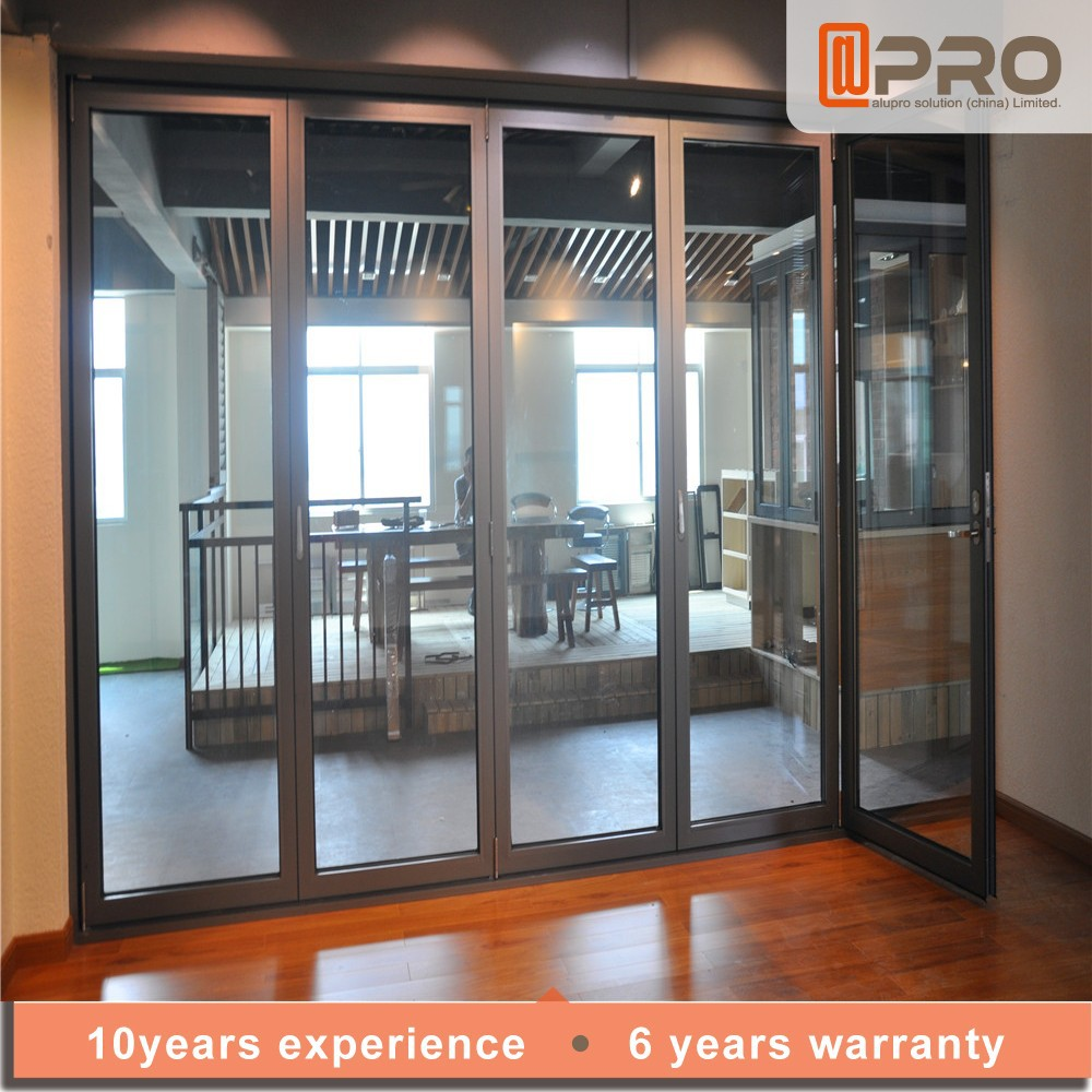 China fabricante corredera puerta plegable puerta de Puertas corredizas hierro