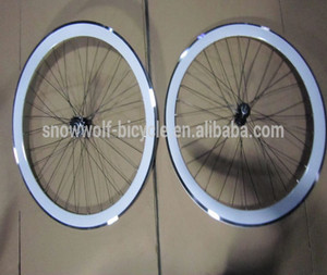 bicycle wheel alloy 700C bike parts road bike rim 700C bike alloy wheel set SW-W-A17