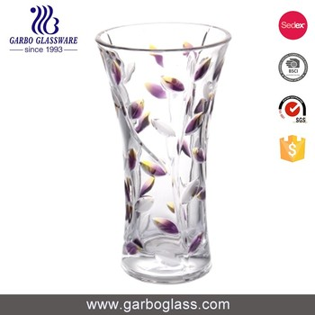 Charming Clear Glass Vase Different Types Glass Vase Exquisite Vase