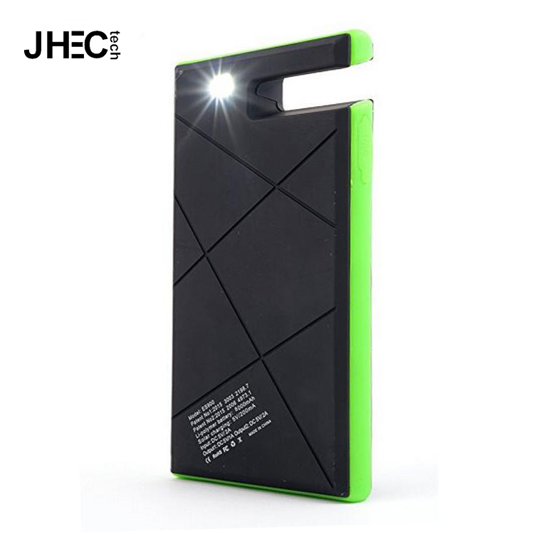 2017 waterproof phone grip solar charger dual usb external battery mobile pack bracelet power bank made in japan