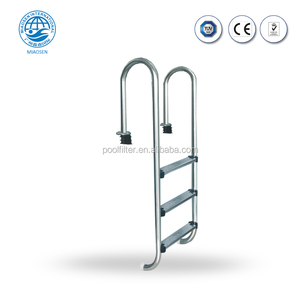 Promotional Design MU Series Swimming Pool Equipment 3 Steps Pool Ladder