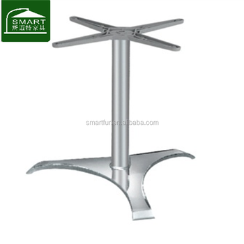 Outdoor Dining Table Aluminum Triangle Table Legs