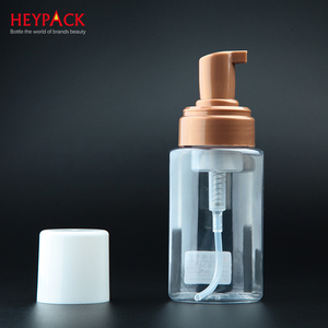 Hot sale 150ml foam pump plastic bottle manufactured in china