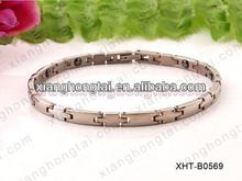 2013 wholesale magnetic therapy germanium bracelet with strong magnet ,germanium ,negative ion and far infrared