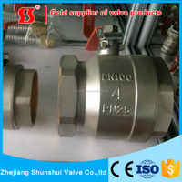 1 2 3 4 Inch Italy Brass Ball Valve from yuhuan shunshui