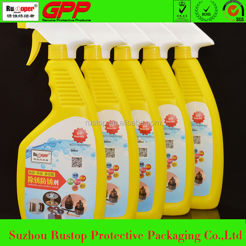 China manufacture cheap chemical metal cleaning rust remover