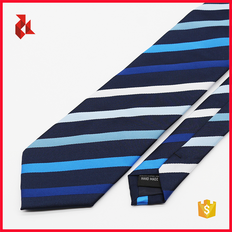 Italian Mens Fashion Color Striped Silk Ties
