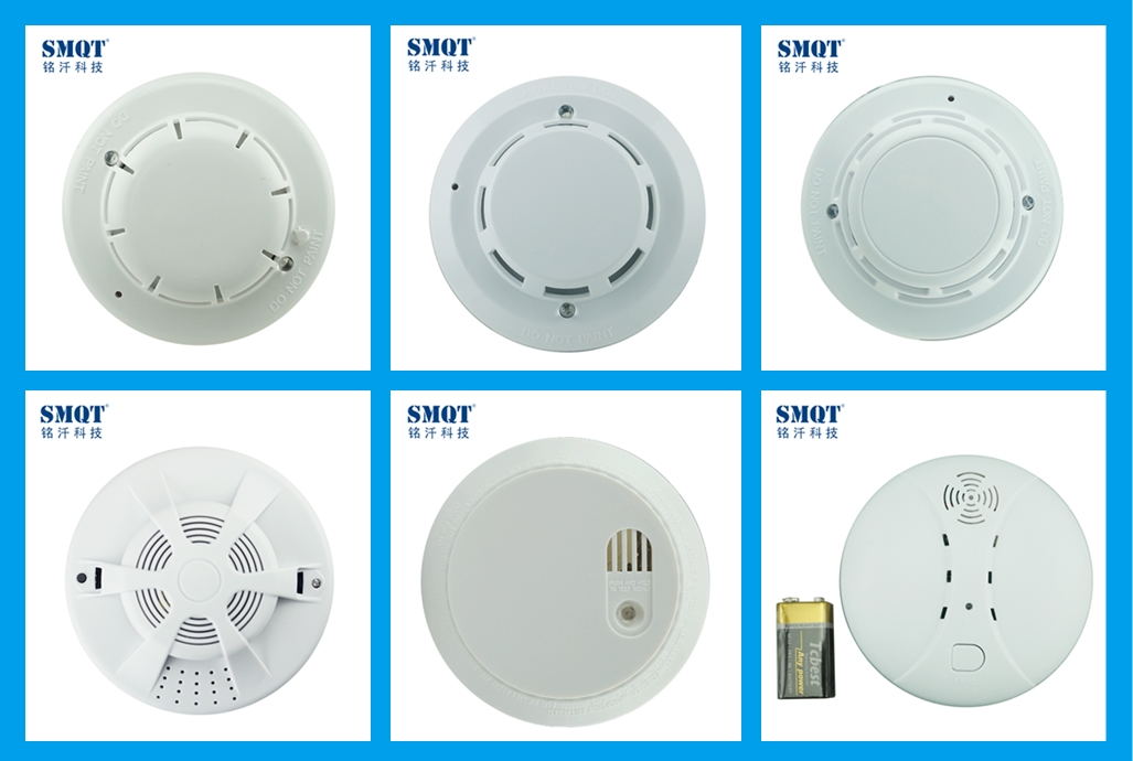 SMQT 4 wire smoke and heat composite detector
